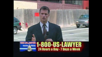 1-800-US-LAWYER TV Spot, 'Dangerous Streets' - Thumbnail 2