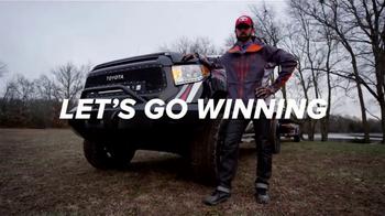 Toyota Tundra TV Spot, 'Competetive Desire' Featuring Michael Iaconelli - Thumbnail 9