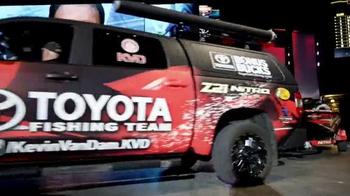 Toyota Tundra TV Spot, 'Bass Master' Featuring Kevin VanDam - Thumbnail 4