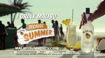 Malibu Rum TV Spot, 'A Malibu Day' Song by Major Lazer, Nyla & Fuse ODG - Thumbnail 8