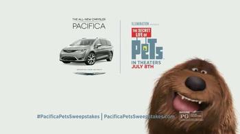 2017 Chrysler Pacifica TV Spot, 'The Secret Life of Pets: Spirited' - Thumbnail 8