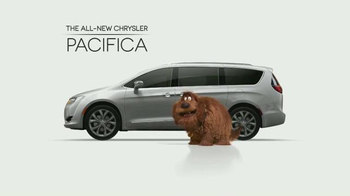 2017 Chrysler Pacifica TV Spot, 'The Secret Life of Pets: Spirited'