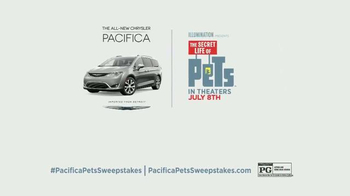 2017 Chrysler Pacifica TV Spot, 'The Secret Life of Pets: Spirited' - Thumbnail 7