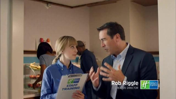 Holiday Inn Express TV Spot, 'Ready to Rock' Featuring Rob Riggle - Thumbnail 1