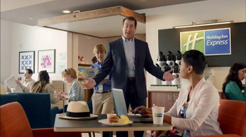 Holiday Inn Express TV Spot, 'Ready to Rock' Featuring Rob Riggle - Thumbnail 2