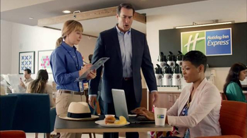 Holiday Inn Express TV Spot, 'Ready to Rock' Featuring Rob Riggle - 1005 commercial airings