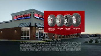 Firestone Complete Auto Care TV Spot, 'Set Of Tires & Gift Card' - Thumbnail 5