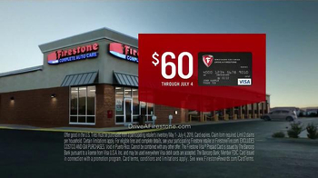 Firestone Complete Auto Care TV Spot, 'Set Of Tires & Gift Card' - Thumbnail 6