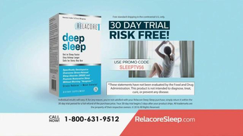 Relacore Deep Sleep TV Spot, 'Stress Related Sleep Disorder' - Thumbnail 10