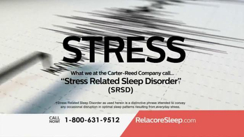 Relacore Deep Sleep TV Spot, 'Stress Related Sleep Disorder' - Thumbnail 4