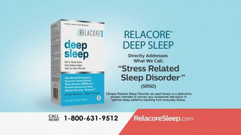 Relacore Deep Sleep TV Spot, 'Stress Related Sleep Disorder' - Thumbnail 6