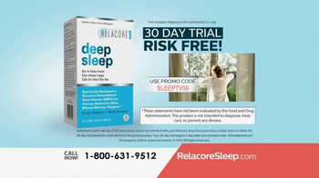 Relacore Deep Sleep TV Spot, 'Stress Related Sleep Disorder' - Thumbnail 9