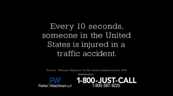 Parker Waichman TV Spot, 'Traffic Accidents' - Thumbnail 2