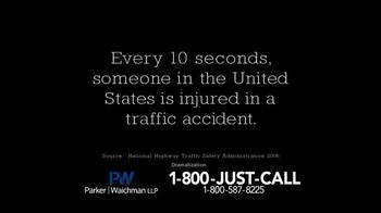 Parker Waichman TV Spot, 'Traffic Accidents' - Thumbnail 3