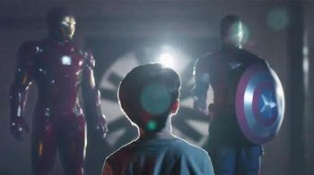 Marvel Captain America Civil War Hero Gear TV Spot, 'Two Sides' - 5427 commercial airings