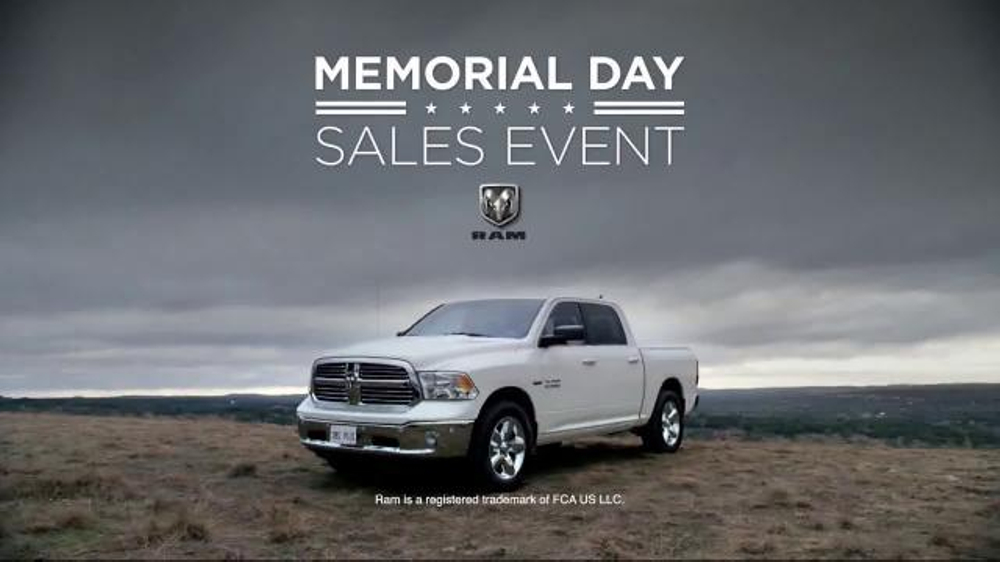 Ram Memorial Day Sales Event TV Commercial, 'Leadership: Ram 1500'