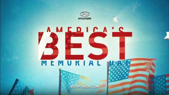 Hyundai America's Best Memorial Day Sales Event TV Spot, 'Elantra & Sonata' - Thumbnail 1