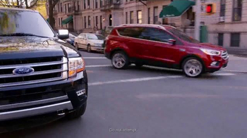 2017 Ford Escape TV Spot, 'Spy Movie' Featuring Mozhan Marno - Thumbnail 9