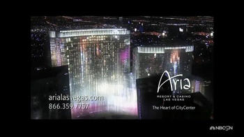 Aria Hotel and Casino TV Spot, 'Distinctive New Concepts'