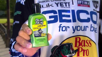 BullFrog Land Sport Sunscreen TV Spot, 'The Heat' Featuring Jason Christie - Thumbnail 4