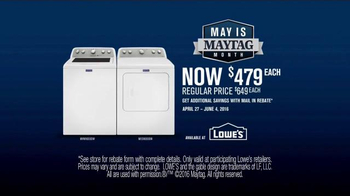 Maytag TV Spot, 'What's Inside: Washer & Dryer' Featuring Colin Ferguson - Thumbnail 8