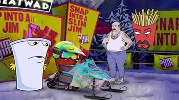 Slim Jim TV Spot, 'Adult Swim: Snowmobile' - Thumbnail 3