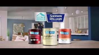 HGTV HOME by Sherwin-Williams Color Collection TV Spot, 'Easy Decisions' - Thumbnail 9