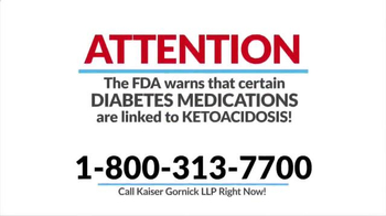 Kaiser Gornick LLP TV Spot, 'Diabetes Medications' - Thumbnail 1