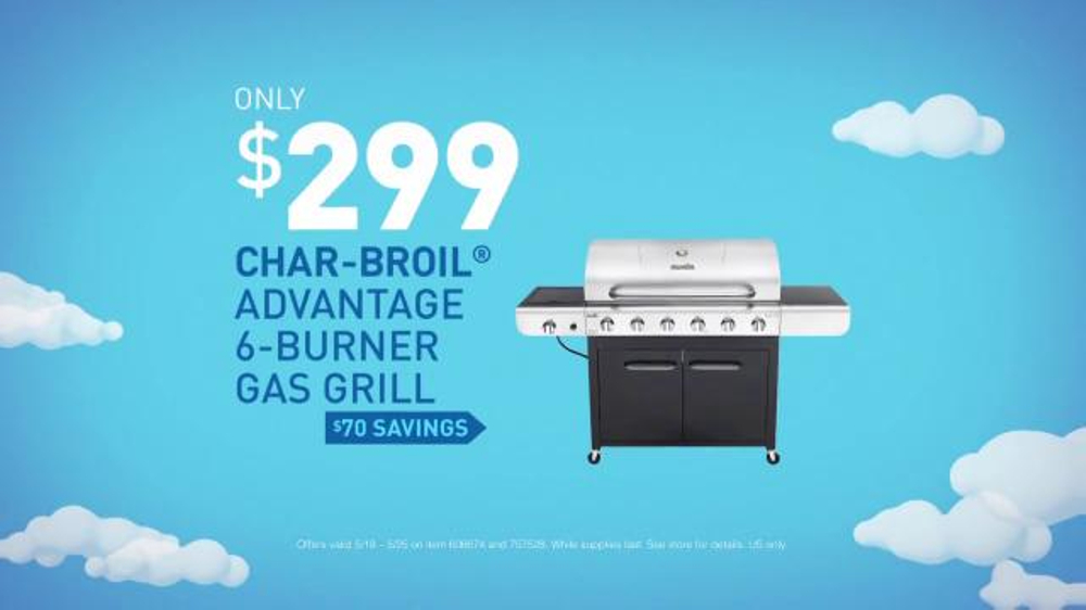 Lowe S Memorial Day Savings Tv Commercial Grill And Lawn