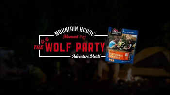 Mountain House TV Spot, 'Moment #23: The Wolf Party' - Thumbnail 1
