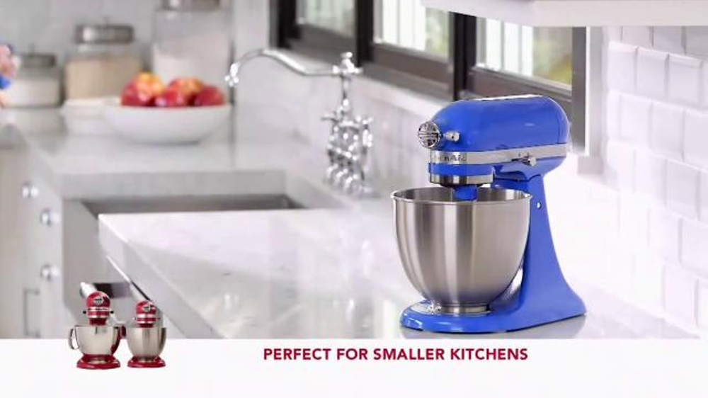 Kitchen Aid Artisan Mini Stand Mixer TV Commercial, U0027Powerful Performanceu0027    ISpot.tv