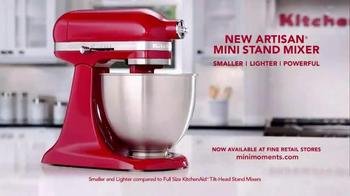 Kitchen Aid Artisan Mini Stand Mixer TV Spot, 'Powerful Performance' - Thumbnail 9
