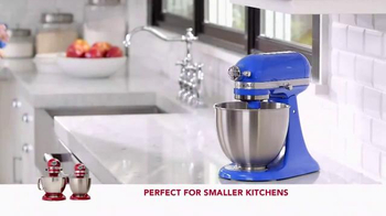 Kitchen Aid Artisan Mini Stand Mixer TV Spot, 'Powerful Performance' - 1221 commercial airings