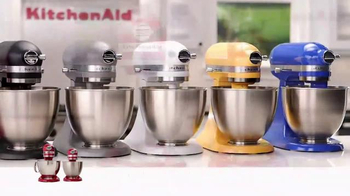 Kitchen Aid Artisan Mini Stand Mixer TV Spot, 'Powerful Performance' - Thumbnail 7
