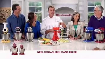 Kitchen Aid Artisan Mini Stand Mixer TV Spot, 'Powerful Performance' - Thumbnail 8