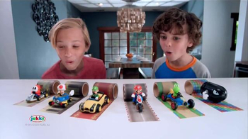 Mario Kart Tape Racers TV Spot, 'Race Around Anywhere' - 216 commercial airings