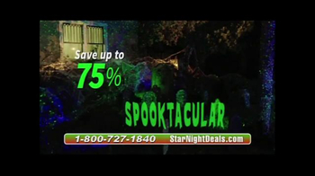 Star Night Laser TV Spot, 'Moving Fast' - Thumbnail 9