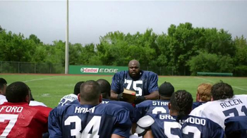 Castrol Edge TV Spot, 'Words of Strength' Featuring Vince Wilfork - Thumbnail 1