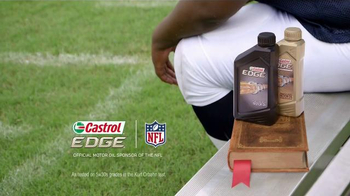 Castrol Edge TV Spot, 'Words of Strength' Featuring Vince Wilfork - Thumbnail 8