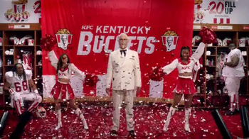 KFC $20 Fill Up TV Spot, 'Real Team' Featuring Rob Riggle