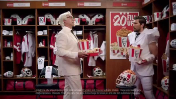 KFC $20 Fill Up TV Spot, 'Real Team' Featuring Rob Riggle - Thumbnail 6