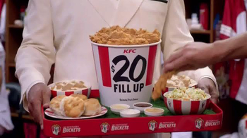 KFC $20 Fill Up TV Spot, 'Real Team' Featuring Rob Riggle - Thumbnail 8