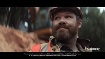 GoDaddy TV Spot, 'Excavating Business' Song by Perk Badger