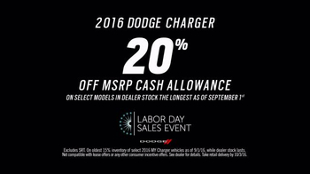 Dodge Labor Day Sales Event TV Spot, 'Rumble' Song by Metallica - Thumbnail 8