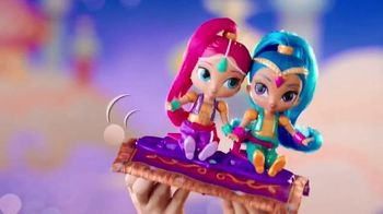 Shimmer and Shine Magic Flying Carpet TV Spot, 'In Motion'