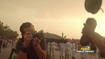 Aleve Direct Therapy TV Spot, 'Travel Photographer' - Thumbnail 2