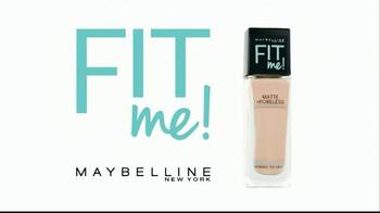 Maybelline New York Fit Me! Matte + Poreless Foundation TV Spot, 'Beyond' - Thumbnail 2