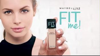 Maybelline New York Fit Me! Matte + Poreless Foundation TV Spot, 'Beyond' - Thumbnail 8