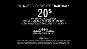 Jeep Celebration Event TV Spot, 'Mt. Rainier' Featuring Richard Sherman [T2] - Thumbnail 9