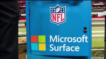 Microsoft Surface TV Spot, 'The Official Tablet of the NFL' - Thumbnail 1